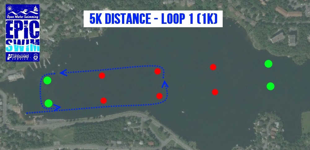 2014 EPIC Swim 5K Course - Part A